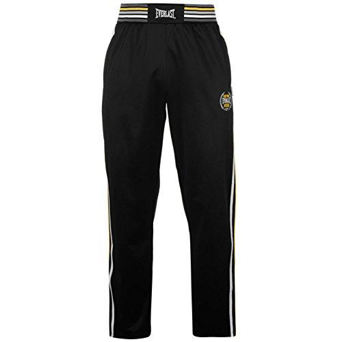 everlast-da-uomo-classic-pantaloni-elasticizzato-pantaloni-sportivi-allenamento-black-yellow-xl