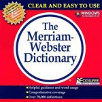 Merriam-Webster's Standard Dictionary (Jewel Case)