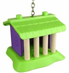 Cheap Natures Instinct 100-24283 Natures Instinct Tiki Takeout 4in x 3.75in x 3.25in Bird Toy (100-24283)
