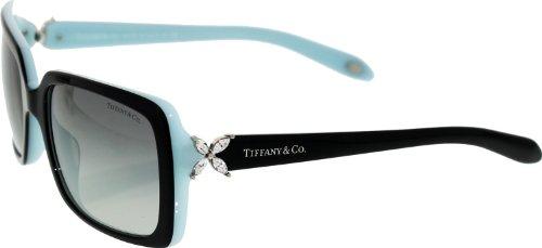 Tiffany & Co Women's Gradient Black Rectangle Sunglasses (Tiffany Frames For Women compare prices)