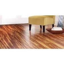 Strand Woven Honey Tigerstripe 3/8 in. x 5-1/8 in. Wide x 72 in. Length Click Lock Bamboo Flooring (25.75 sq. ft. /case)