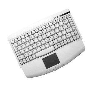 Adesso Mini White USB Keyboard with Glidepoint Keyboard  ACK-540UWB00008XOH6