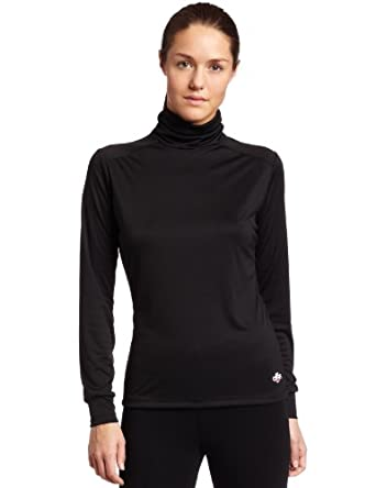 Hot Chillys Ladies Peach Roll T-Neck Base Layer Top by Hot Chillys