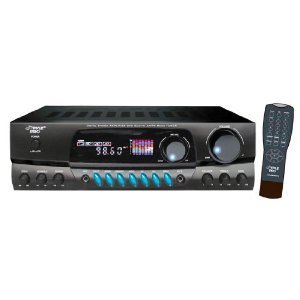 PYLE PRO PT260A 200 Watt 2 Channel Home Stereo Receiver w/AM FM Tuner
