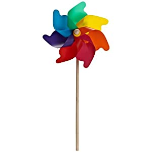 Abbott Collection Rainbow Garden Pinwheel, Large