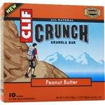 Clif Crunch Granola Bar, Peanut Butter, 5 Two-Bar Pouches