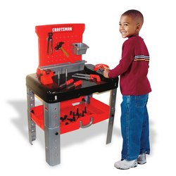 Amazon Com My First Craftsman Tool Bench Toys Amp Games