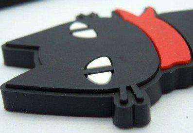 Eshop Cute Cable Tie Cord Organizer Earphone Wrap Winder/ Fixer Holder/Cord Manager/Cable Winder+Eshop Cable Tie (1Pcs Black Cat)