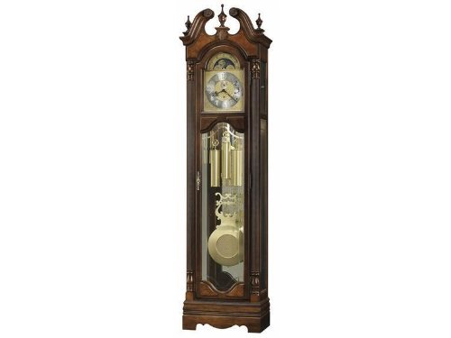 Raymond Grandfather Clock by Howard Miller - Saratoga Cherry (611182)