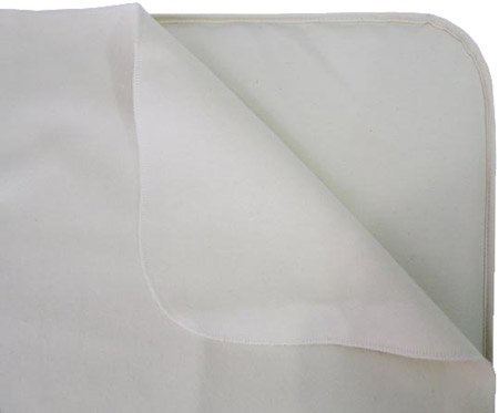 Naturepedic Waterproof Infant Bassinet Protector Pad Flat 15in x 30in