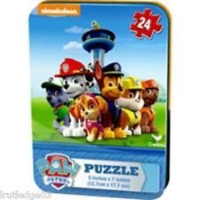 PAW Patrol Is on a Roll 24 Piece Puzzle in a Tin - 1