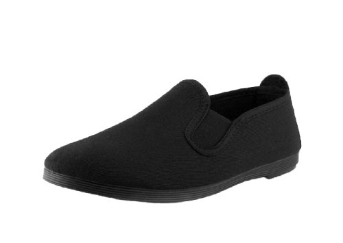 KANDALS Women's Scented Slip-On (US 6.5-7 (EU 37), All Black)