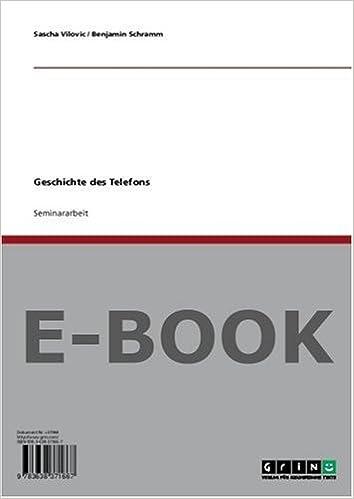 Geschichte des Telefons: Amazon.de: Sascha Vilovic, Benjamin ...
