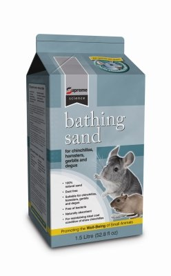 Brand New SUPREME PET FOODS LIMITED - SCIENCE BATHING SAND (52.8OZ)