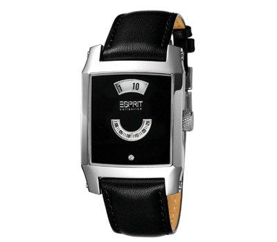 Esprit EL900462001 - Reloj de pulsera Mujer, Cuero, color Negro