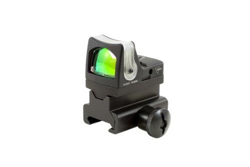 Trijicon Ruggedized Miniature Reflex Sight 7 Moa Dual Illuminated With Rm34 Picatinny Rail Mount