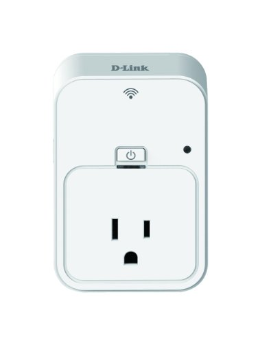 D-Link Wireless Smart Plug, Control Your Electronics From Anywhere With The Home Automation App For Smartphones And Tablets