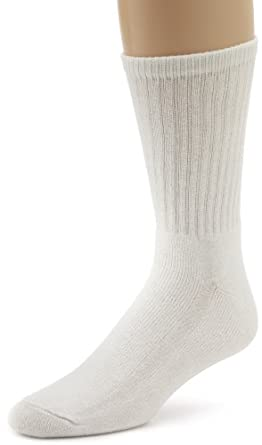Wigwam  Super 60 Crew 3 Pack Socks, White, Medium