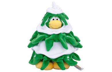 Disney Club Penguin Christmas Tree