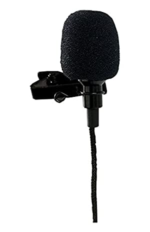 Tetra-Teknica Essentials Series Lavalier Lapel Clip-on Omni-directional Microphone, Color Black