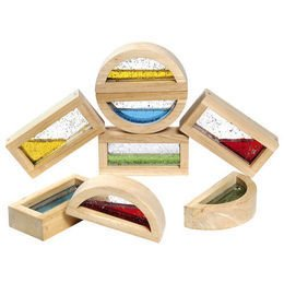 Rainbow Blocks - Water Filled - Set of 8