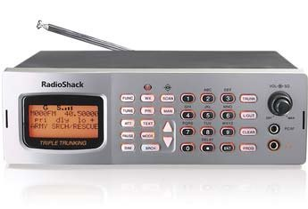 Remanufactured RadioShack PRO-163 1000-Channel Triple Trunking Mobile/Base Scanner