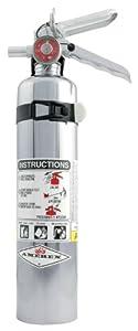 Allstar ALL10501 Chrome Dry Chemical Fire Extinguisher