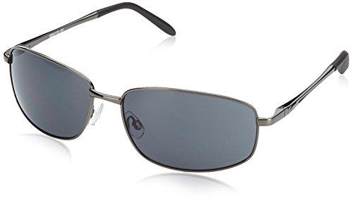 Burgmeister Herren SBM119-181 Rechteckig Sonnenbrille, Grey