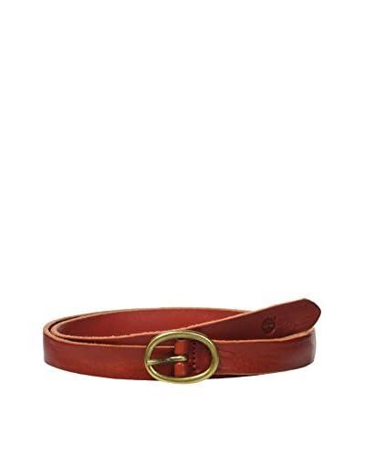 Timberland Cinturón Piel M3576 Rojo