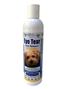Betta Bridges Eye Tear Stain Remover for Dogs With Organic Essential Oils, And Natural Antibacterial Ingredients- 8 oz , Works Fast and Gives Your Dogs Angel Eyes. Quickly Removes Eye Tear Stains From Poodles, Bull Dogs, and Shih Tzu. Works Great for Cats