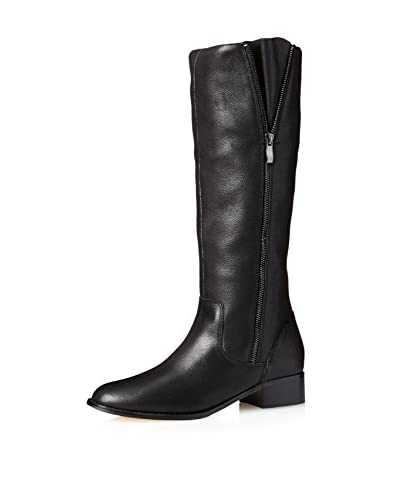Nude Women's Romeo Knee High Side Zip Boot  [Black]