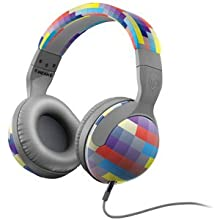 Skullcandy S6HSDZ-224 Hesh 2 Over-Ear Headphone With Mic (Grey/Gridlock)