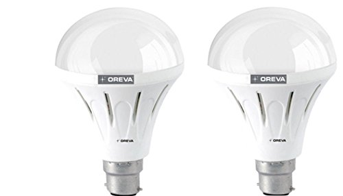 10W ECO LED Bulb (Cool Day Light , pack of 2)
