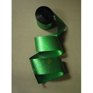 Metallic Streamer Green Foil Streamer (1 per package)