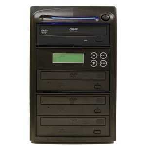Produplicator 3 Burner 52X CD Duplicator Machine (Standalone Audio Video Copy Tower, Disc Duplication Device)