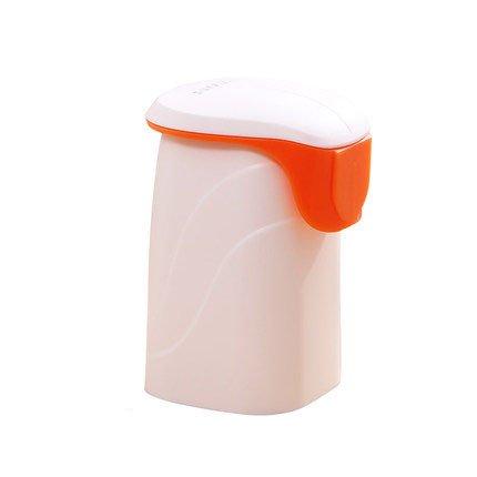 Orange Cup toothpaste dispenser