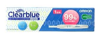 【第2類医薬品】メディズワン オムロン妊娠検査薬 クリアブルー1回用