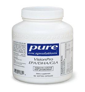 Pure Encapsulations - Visionpro Epa/Dha/Gla 180 Caps