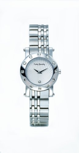 Betty Barclay BY102.10.100.040 Ladies Stone Encrusted Stainless Steel Bracelet Watch