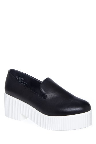 Shellys London Lacharite Slip On Platform Shoe