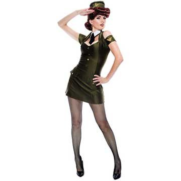 Paper Magic Women's French Kiss Bombshell Babe Costume