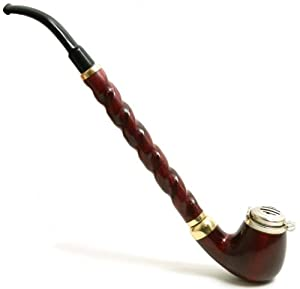 Tobacco Smoke Pipe – Dezerter-Churchwarden No 13 – High Quality Pear Wood Root – Hand Made