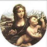 Da Vinci Madonna of the Yarnwinder Pin