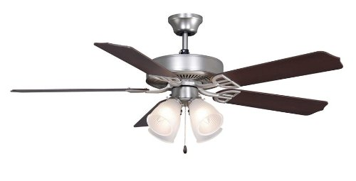 Fanimation BP210SN1 Aire Decor BP210 Builder Ceiling Fan 5 Blades 5897 CFM