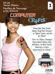 Janlynn Ink Jet Tattoo Sheets 8 1/2