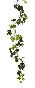 6 Foot Artificial Silk English Ivy Garland