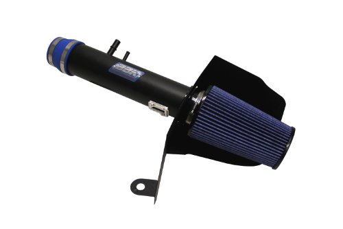 BBK 17785 Blackout Finish Cold Air Induction Intake System for Ford Mustang (2012 Mustang Intake compare prices)