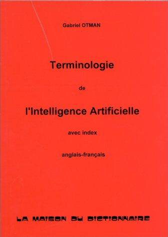 Terminologie de l'intelligence artificielle