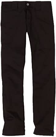 Dickies Big Boys' Skinny Straight Pant, Black, 8