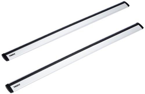 Thule 961 - Wingbar Aerodinamiche, in Alluminio, 118 cm
